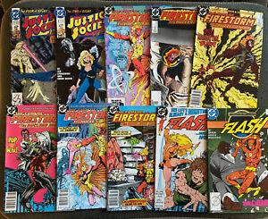 DC Comic Book Lot Of 63