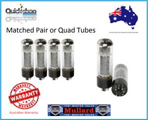 Mullard EL34 Platinum Matched Power Tubes (Pair or Quad ) Genuine Made in Russia