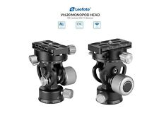 [Us Dealer] Leofoto Vh-20 Monopod Head with Panning Clamp and Plate