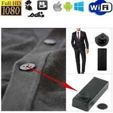 Mini Button Hole Camera Hidden DVR PC Camcorder Pinhole Surveillance AUDIO USB
