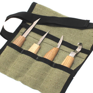 Wood Carving Knives Hand Tools SET Hook Knife Whittling Detail Knife BeaverCraft