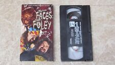 RARE OOP WWF The Three Faces of Foley Cactus Jack Mankind Mick Wrestling WWE!!!!