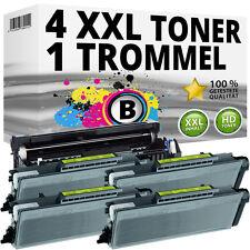 4x XL TONER+TROMMEL für Brother MFC 8370DN 8380DN 8880DN 8885DN 8890DN HL5380DN