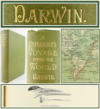 1913 * Charles Darwin * Naturforscher REISE * ZEITSCHRIFT für Forschungen * Karten * Geologie * Murray *