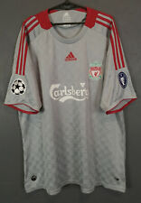 LIVERPOOL 2008/2009 UEFA CHAMPIONS LEAGUE SOCCER FOOTBALL SHIRT JERSEY SIZE 2XL