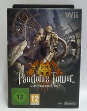PANDORA'S TOWER LIMITED EDITION - NINTENDO WII PAL NUOVO NEW RARE