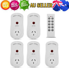 Smart Wireless Socket Remote Control Mains Switch 5 Outlet Power Point AU Plug