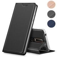 Handy Hülle für Nokia 6.1 Book Case Schutzhülle Tasche Slim Flip Cover Etui