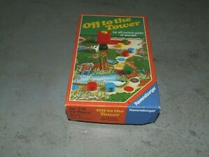 Ravensburger - Off to the Tower Board Game - Complete