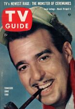 1958 TV Guide March 29 - Corcoran Family Sherman Oaks CA;Rin Tin Tin;Mike Hammer