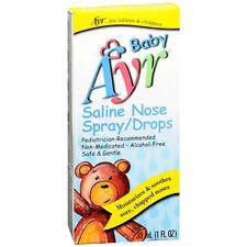 Baby Ayr Saline Nose Spray/Drops (1 fl. oz.)