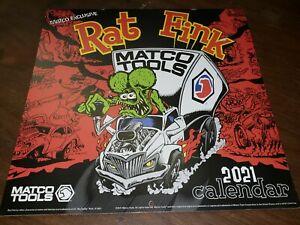 2021 Matco Ratfink Calendar