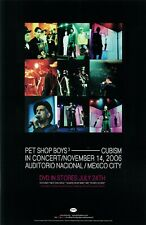 Pet Shop Boys poster - Cubism In Concert - 11 x 17 inches