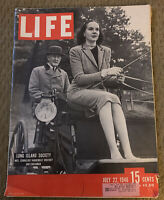 Life Magazine - Long Island Society, Mrs. Cornelius Vanderbilt, July 22, 1946