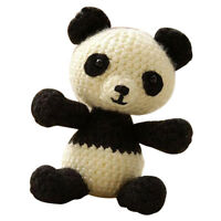 DIY Crafts Crochet Kit for Adults Cartoon Animal Panda Doll Knitting Making