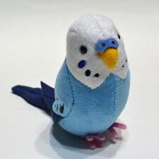 Parakeet (Blue) Plush  ' with a clip base '