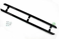 VW CADDY 2003-2015 Side bars BLACK stainless steel s PAIR