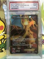 2014 Pokemon XY Flashfire Full Art Holo Charizard EX #100 PSA 9 MINT Ultra RARE