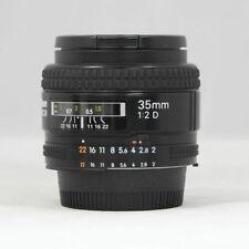 Nikon NIKKOR 35mm f/2 F2.0 D AF Lens 35.2