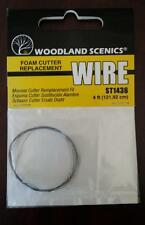 Foam Cutter Replacement Wire - Woodland Scenics ST 1436 Model Trains - New