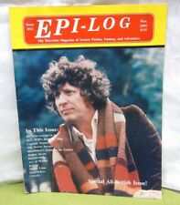 Epi-Log Magazine 1991 science fiction all-British issue Dr. Who & Ace of Wands
