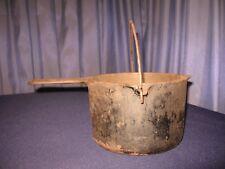 Vintage cast iron Griswold Deep Fat Fryer #1003 no basket SITS FLAT ON GLASS TOP