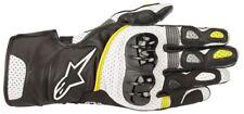 Handschuhe Leder Alpinestars 3558218 Sp2 V2 125 BLK Whi YEL XL