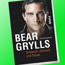BEAR GRYLLS   SCHLAMM, SCHWEISS UND TRÄNEN   Die Autobiographie, Biografie(Buch)