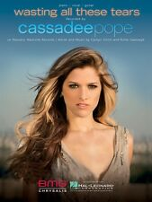 Wasting All These Tears Sheet Music Piano Vocal Cassadee Pope NEW 000124370