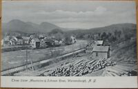 1905 NY Postcard: Warrensburgh - Adirondacks - New York