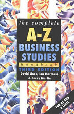 The Complete A-Z Business Studies Handbook by Barry Martin, Ian Marcouse, David…