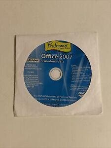 Professor Office 2007 Windows Vista