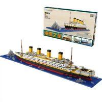 1860pcs Titanic Ship Legoed Building Blocks Educational Toys Model Complete Set