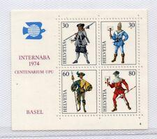 Suiza Internaba Centenario UPU año 1974 (DQ-866)