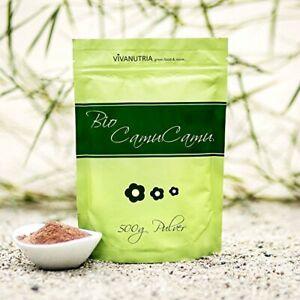 - Bio Camu Camu Pulver, 500g, Vitamin C, Smoothie, VivaNutria (39,80EUR/kg)