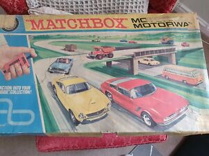 Matchbox Motorised Motorway Circa 60'