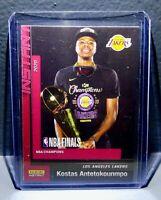 Kostas Antetokounmpo 2020 Panini LA Lakers NBA Champions #2 Basketball Card
