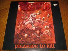 Kreator-pleasure to kill LP, Noise GERMANY 1986,ois,9 tracks, megarar, excellent!!!