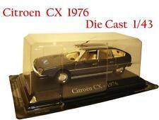 Citroen CX 1976 RBA Die Cast 1/43 + Brochure N 15 New Sealed Nuovo Sigillato