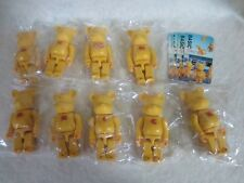 Bearbrick Series 2 Basic Words Wasabe Yellow 100% S2 Be@rbrick 9pcs set of 9