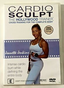 CARDIO SCULPT The Hollywood Trainer Cross Training For The Whole Body DVD As New