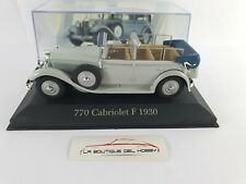 Mercedes benz 770 Cabriolet F 1930 altaya scale 1:43