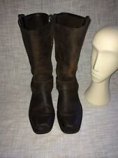 Vintage Frye Harness Motorcycle Boots Men Size 9M