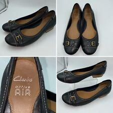 ballet shoes black leather in vendita | eBay