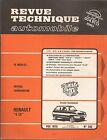 REVUE TECHNIQUE AUTOMOBILE 342 RTA 1975 RENAULT 5 LS MERCEDES 200 220 240D SIMCA