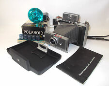 Polaroid Automatic 100 Land Camera with Flash, Bulbs, and Manual-EXCELLENT