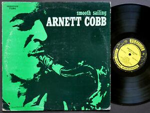 ARNETT COBB Smooth Sailing LP PRESTIGE PRLP 7184 US 1959 JAZZ RVG DG MONO