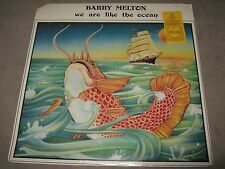 BARRY MELTON We Are Like The Ocean RARE SS SEALED New Vinyl LP 1978 MIM-9007 Cut