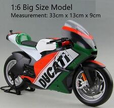 Scale 1:6 Ducati Superbike Motorcycle Kit New Big Size Model World Cycle Series