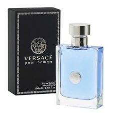 Versace Pour Homme Cologne by Versace, 3.4 oz EDT Spray for Men NEW